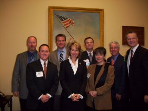 BWDA Members meet with Rep. Gabby Giffords