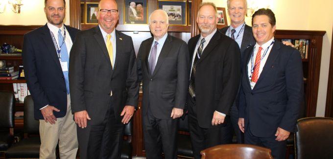 Senator McCain and BWDA