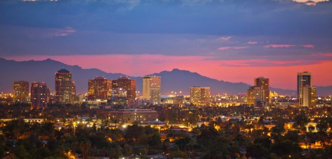Tucson twilight